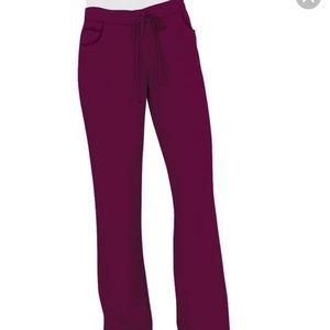 Grey's Anatomy Pants - Grey's Anatomy Maroon Scrub Bottoms